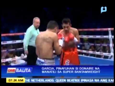 Sports Lang: Garcia, pinayuhan si Donaire na manatili sa Super Bantamweight