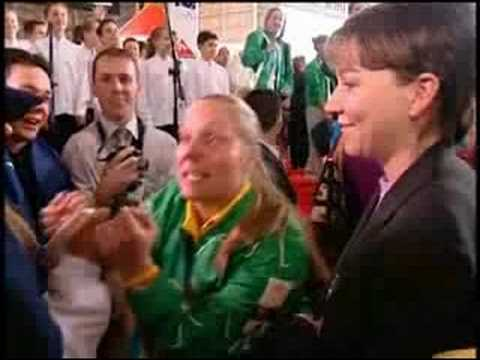 Olympics Atlethes welcome home - Athens 2004 Ian Thorpe