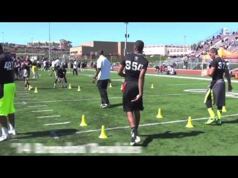 2013 Nike Football Training Camp: Los Angeles - Quarterback Clips - CollegeLevelAthletes.com