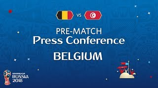 FIFA World Cup™ 2018 : BEL vs TUN : Belgium Pre-Match PC