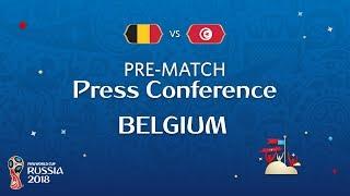 FIFA World Cup™ 2018 : BEL vs TUN : Belgium Pre-Match PC