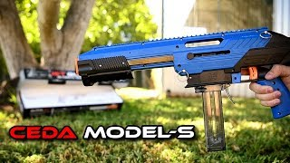 "CEDA Model-S: Most accurate blaster ""out of the box"""