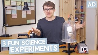 3 Fun Science Experiments
