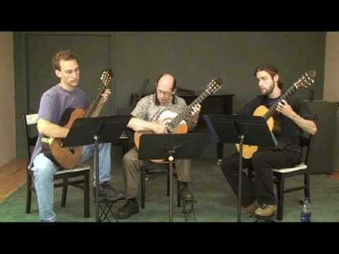 Summer Practice with Classical Guitar Trio Part VI