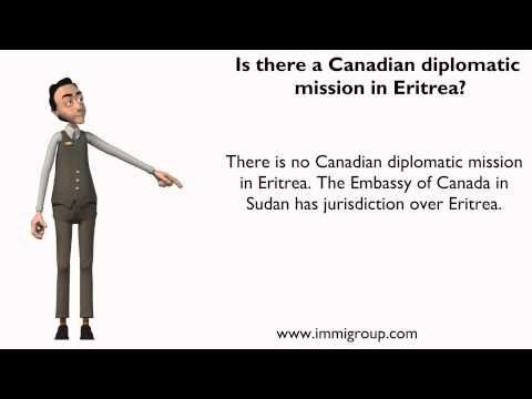 Is there a Canadian diplomatic mission in Eritrea?