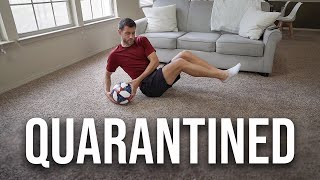 My Season Is Officially Suspended.. | Pro Footballer Quarantined