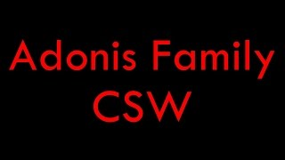 Adonis Family CSW ( www.andreamtr.com )