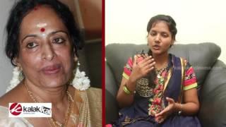 KR Vijaya clears the sky about her health