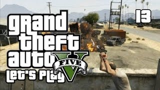GTA V - Let's Play/Walkthrough - Mission 15: Trevor Philips Industries - #13 (GTA 5 Gameplay)