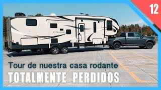 ❤️NUESTRA CASA RODANTE POR DENTRO - Ep 12 Keystone Cougar 32DBH Bunkhouse Fifth Wheel RV Tour