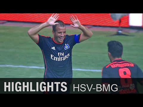 Rafael van der Vaart bringt HSV Platz 3 | Hamburger SV - Borussia Mönchengladbach 3:1 | Telekom Cup