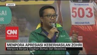 Download Lagu Menpora Apresiasi Keberhasilan Zohri, Siapkan Bonus & Beasiswa Gratis STAFABAND