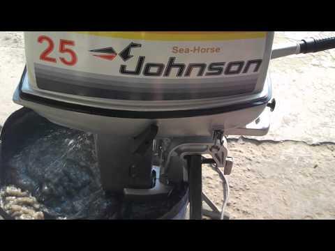 лодки и моторы джонсон видео