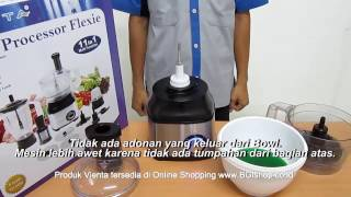 Vienta - Tips Cara Tuang Adonan dari Bowl Vienta Food Processor Flexie