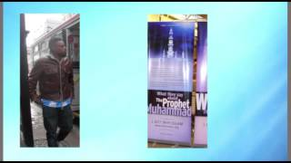 Dawah Booth in Manhattan by Young Muslims