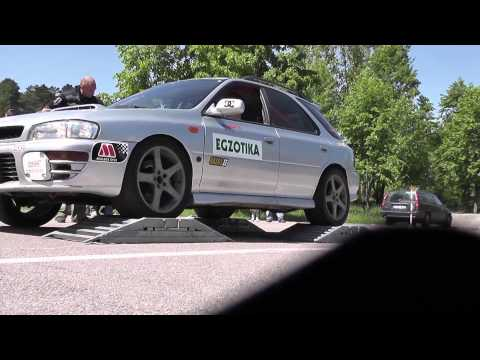 AWD sistems wars (testing) on rollers