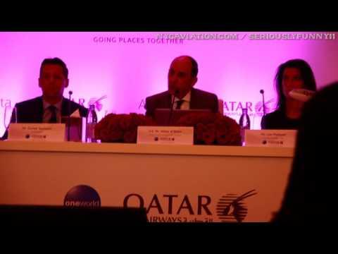 Qatar Airways CEO Akbar Al Baker - Atlanta, 17MAY16