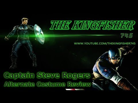 Marvel Avengers Alliance: Captain Steve Rogers Alt. Costume (PVP Included)
