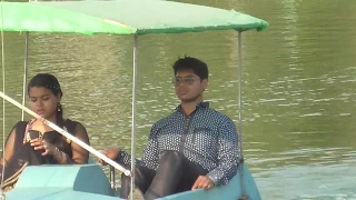 Kajal Dighi Park of New Digha Sea Side Toy Train,Boating/West Bengal in India