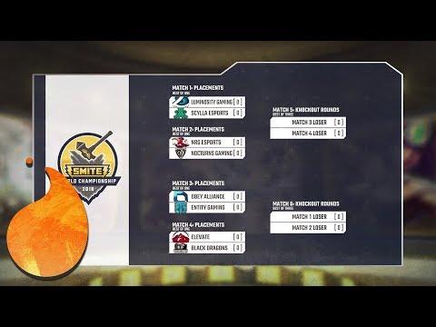 SMITE WORLD CHAMPIONSHIP PREDICTIONS