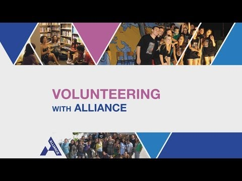Volunteering with Alliance