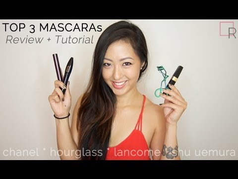 REVIEW: My Top 3 Mascaras + How to Curl Eyelashes & Apply Mascara [TUTORIAL]