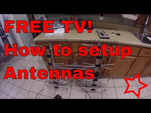 Detailed Instructions On How To Install An Over The Air Tv Antenna For Free Hdtv video