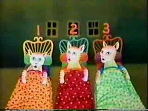 Sesame Street - The Three Pretty Kitties
