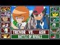 Ash vs. Trevor (Pokémon Sun/Moon) - Kalos League Battle (Custom)!