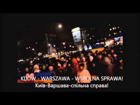 Polska z Ukrainą! Польща і Україна! Poland with Ukraine!