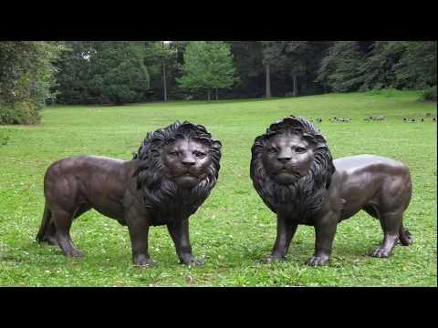 Grabmale Samulewitz in Rheinbach — Tiere aus der ganzen Welt aus Bronze/Messing