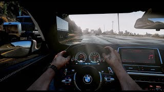 GTA 6 Graphics | Driving In FIRST PERSON with BEST CAR MODs | PC NaturalVision✪Remastered GTA V MOD