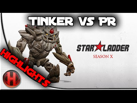 Team Tinker vs Power Rangers Highlights Dota 2 Starladder Season X