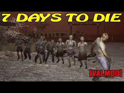7 Days to Die [Valmod] ► Атака зомби ► 7 ночь (16+)
