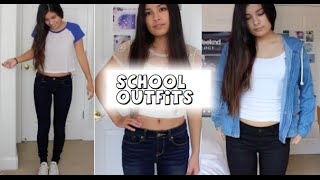 SCHOOL OUTFIT IDEAS :)