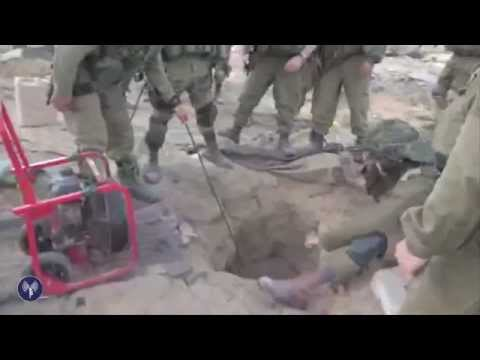 Video: IDF Infantry Find Weapons in Gaza Tunnel
