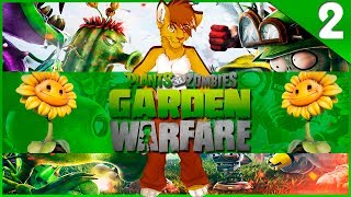 Plants vs. Zombies: Garden Warfare - #2 - Первый БОСС! ᴴᴰ [Xbox 360]