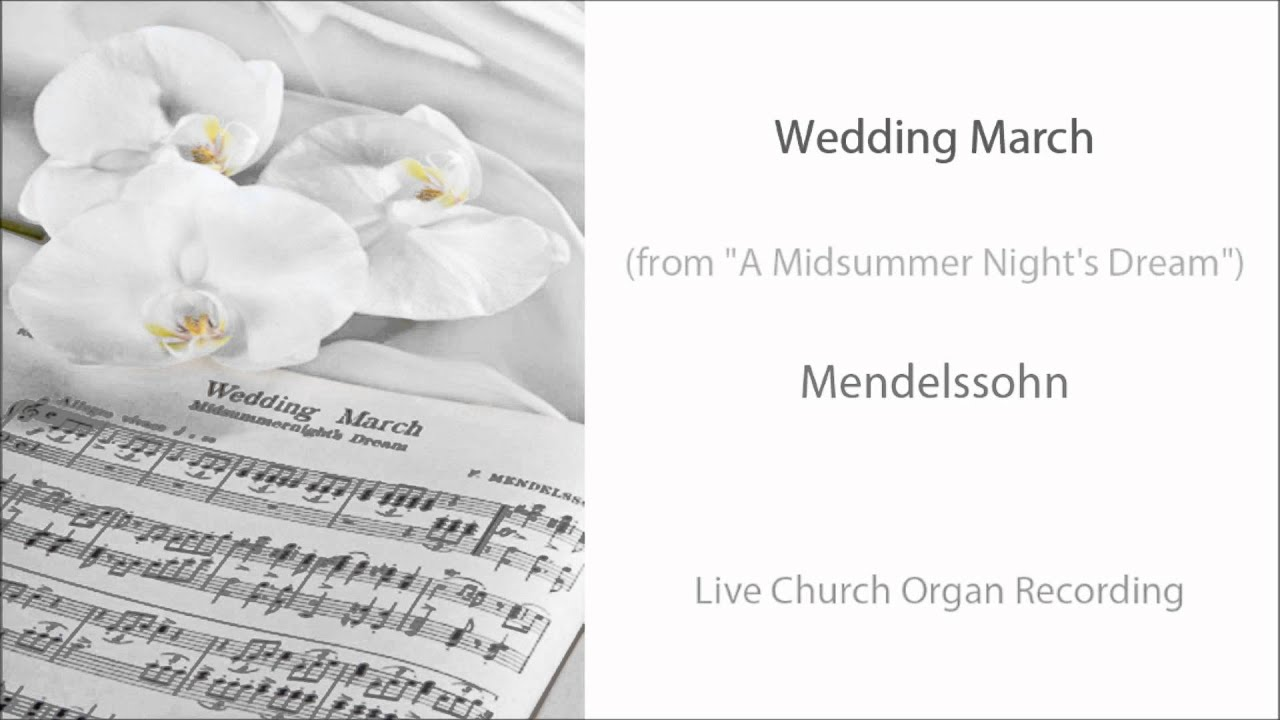 Wedding March Organ