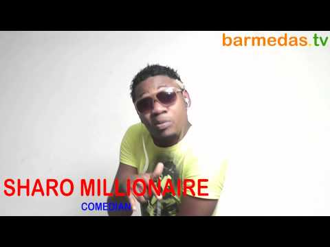 SHARO MILIONAIRE in barmedas.tv office on 3rd March 2012 R.I.P thumbnail