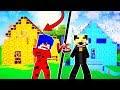 LAV EV İÇİNDE GİZLİ GEÇİT BULDUK 😱 Minecraft
