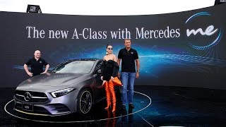The New Mercedes-Benz A-Class正式發表