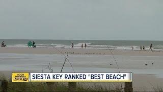 Siesta Beach named Best Beach in the US