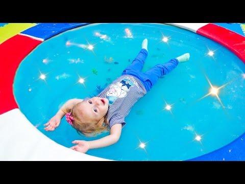 Детская игровая площадка Развлечение для детей VLOG Playground Детское видео