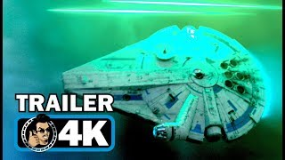 HAN SOLO Official Extended Trailer #2 (4K ULTRA HD) Star Wars Story Sci-Fi Movie HD