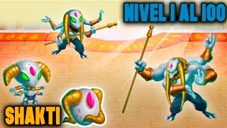 Monster Legends - Shakti (Nivel 1 al 100) + Combate