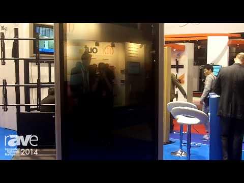 ISE 2014: Edbak Reveals Its New Customizable Kiosk with 70″ Screen