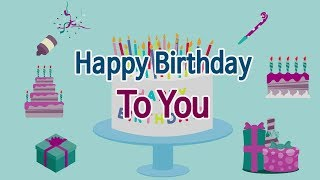 [이즈뮤직 영어동요] Happy Birthday To You (생일축하노래) : Children's Song