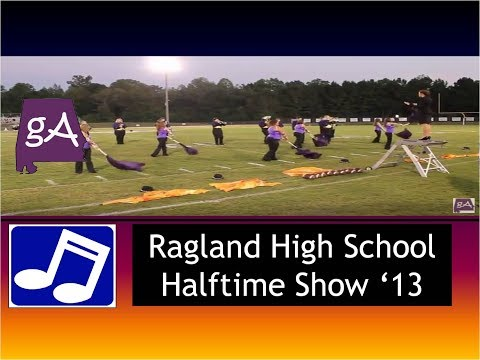 Ragland High School Band Show 2013