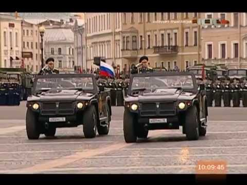 Victory Day Parade, St. Petersburg 2013