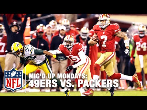 49ers Mic D Up Vs Packers 2012 Divisional Round Playoffs